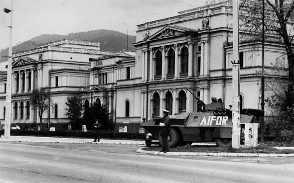 Building of the National Museum in Sarajevo