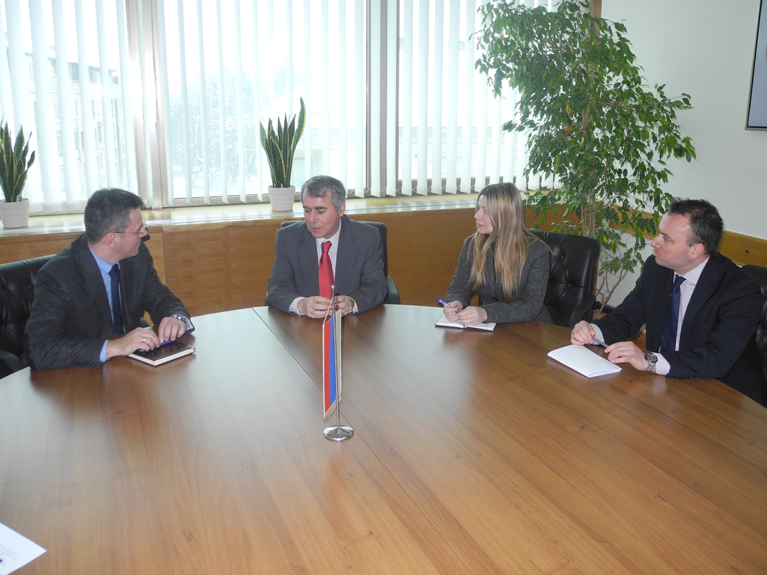 The Speaker of the House of Peoples, Ognjen Tadić, spoke with the Ambassador of Greece to Bosnia and Herzegovina