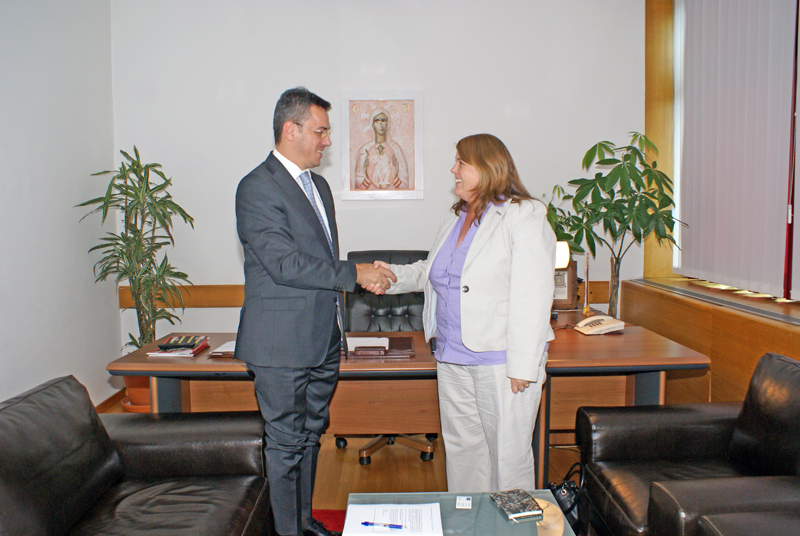 Ognjen Tadić, Speaker of the House of Peoples met with the Head of Council of Europe Office in BiH