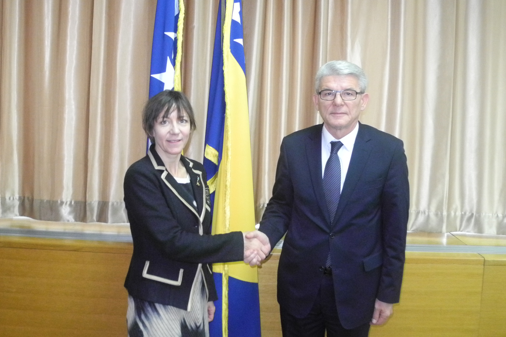 Deputy Speaker of the House of Representatives of the Parliamentary Assembly of BiH, Šefik Džaferović, talked with the Swiss Ambassador to our country