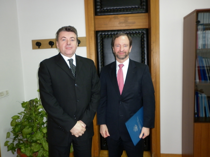 Speaker of the House of Representatives of the Parliamentary Assembly of Bosnia and Herzegovina, Milorad Živković met with the U.S. Ambassador