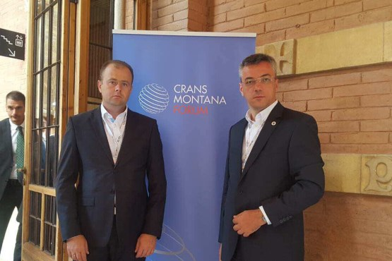 Deputy Speaker of the House of Peoples of the Parliamentary Assembly of BiH Ognjen Tadić participated at the 28th Annual Session of the Crans Montana Forum